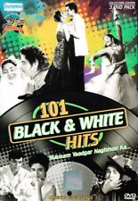 101 Black & White Hits. Bollywood Videoclips. 3-DVD-Packung