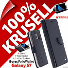 Krusell Boras Folio Wallet Stand Flip Case Cover for Samsung Galaxy S7