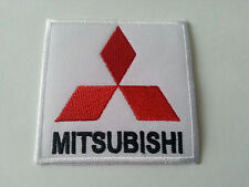 MOTORSPORTS MOTOR RACING CAR SEW / IRON ON PATCH:- MITSUBISHI (a)