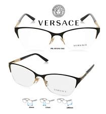 Versace VE1218 1342 Eyeglass Frames Women's Black Size 53mm 100% Authentic