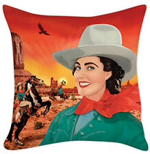 Cowgirl Pillow Cover