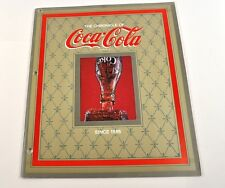 COCA COLA COKE USA Cahier MAGAZINE Chronik - Le Chronique of Coca-Cola - 1979