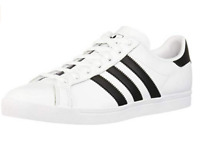 New in Box Adidas Coast Star White Black Size 11 US men's / 12 US women's