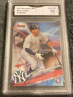 Aaron Judge RC 2017 Bowman's Best #1 GMA Graded 10 Yankees Baseball Rookie ROY