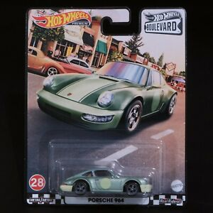 Hot Wheels - Boulevard - Porsche 964 - Premium - Brand New