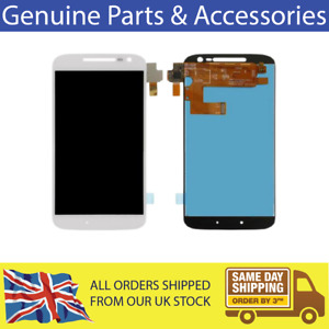 For Motorola Moto G4 White LCD Display Touch Screen without Frame