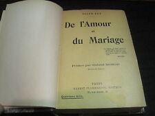 (RARE) Ellen KEY: De l'amour et du mariage