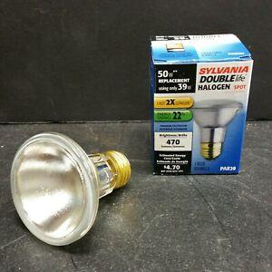 Sylvania 39PAR20/HAL/SP/10/DL Indoor Outdoor Halogen SPOT Light Bulb 39W 50W