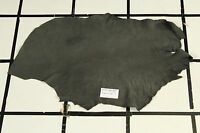"""""""Balbazz"""" Gray Scrap Leather Hide Approx. 4.5 sqft. K64Y26-7 Sm. Grain"""