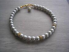 Coloured Pearl Bracelet for women Ladies Girls Bridesmaids Brides wedding 2RD