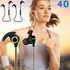 Bluetooth Wireless Headphone Stereo Sports Earbuds In-Ear Headset Earphone Lot