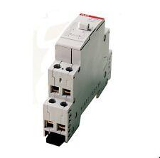 Installationsrelais 220V~Spule, ABB E259R20-230 LC, 2S, 230VAC 50Hz/16Amp, 1St.