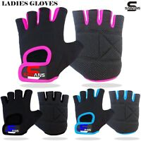 SAWANS® Ladies Gloves Gym Workout Weight Lifting Cycling Fitness Training Straps