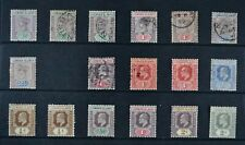 LEEWARD ISLANDS, QV - KGV, a collection of 30 stamps, MM & used condition.