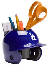 Los Angeles Dodgers MLB Baseball Schutt Mini Batting Helmet Desk Caddy