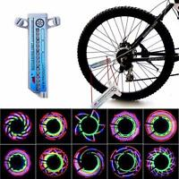 16 LED Car Motorcycle Cycling Bicycle Tire Wheel Valve Flashing Spoke Light Lamp
