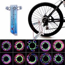 16-LED Car Motorcycle Bike Bicycle Tire Wheel Valve Flashing Spoke Light Lamp