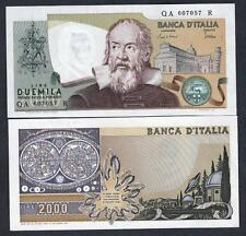 REPUBBLICA  ITALIANA 2000 Lire Galileo 24.10.1983  FDS