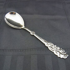 schöner alter Vorlegelöffel Silber Dänemark 1920