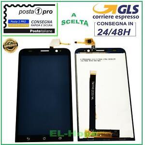 DISPLAY LCD ASUS ZENFONE 2 ZE551ML Z00AD 5,5'' TOUCH SCREEN SCHERMO VETRO NERO