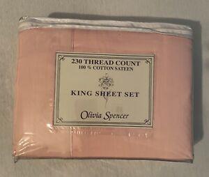 King Sheet Set 230 Thread Count