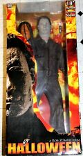"NECA Halloween ROB ZOMBIE MICHAEL MYERS Collectors 18"" FIGURE Mask 1/4 Scale"