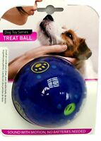 85mm Plastic Dog Toy Treat Ball Sound Activity Training Fetch Play Reward