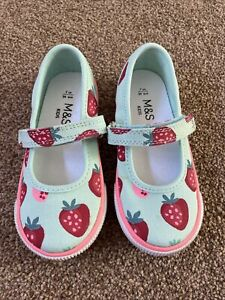 M&S Girls Shoes Size 7 Brand New Without Tags
