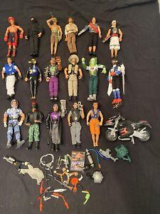 Konvolut Actionman Max Steel Vintage Spielzeug Figuren Sammlung Mattel