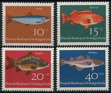 Alemania Federal 1964 Sg # 1326-9 Peces Pescado Mnh Set #d 371
