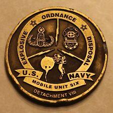 Explosive Ordnance Disposal Mobile Unit 6 Det 7 Navy Challenge Coin