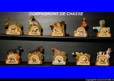 SERIE COMPLETE DE FEVES  LES COMPAGNONS DE CHASSE