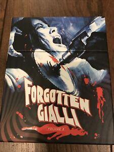 Forgotten Gialli Vol.2  Blu Ray Reg.free Vinegar Syndrome OOP