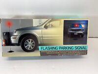 Flashing Parking Signal For Parking Car In Garage Safely