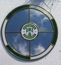 Hibernian  mirror.   30cm circle. Ideal gift for Hibs fan