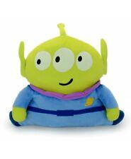 "Disney Toy Story ALIEN GREEN MAN Plush Doll Toy Car Rest Pillow Sofa Cushion 13"""