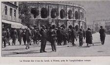 1929  --  LA BOURSE DES VINS DU LUNDI A NIMES   3G404