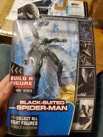 Hasbro Marvel Legends Spider-Man 3 Sandman BAF series Black Suited Spider-Man