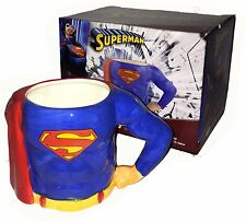 DC Comics SUPERMAN Superhelden Tasse im coolen 3D Comicstyle Look