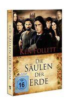 DIE SÄULEN DER ERDE 4 DVD SET RUFUS SEWELL NEU