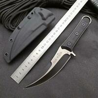 New CNC D2 Steel 5MM Blade Full Tang G10 Handle  Survival Hunting Knife VTH193