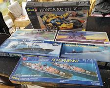 Model Kits USS Ships Job Lot - Spruance - Sovermenny - Ticonderoga - Vella Gulf