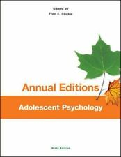 Annual Editions: Adolescent Psychology, 9/e by Fred Stickle (2013, Paperback)