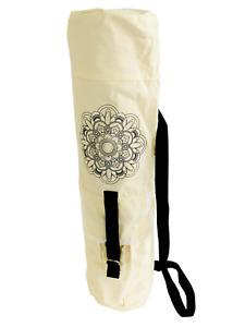 Canvas Yoga Mat Carry Bag