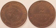 2 Centimes Cérès, 1877 A, SUP !!
