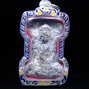 hra Mahesuan Kru Wat Phra sri Mahathat, Suphanburi Thai Buddha Amulet2