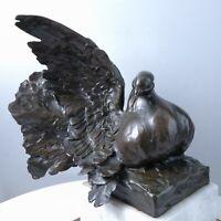 1982 Sandy Scott Bronze Dove Bird Sculpture Life Sized 8/20