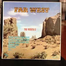 33 TOURS / LP--THE WICHITA'S-FAR WEST-MUSIQUE DE FILM WESTERN-MORRICONE/TIOMKIN