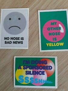 Comic Relief Stickers - Pick From List