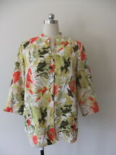 LADIES SIZE 10 TANNER STEET AUSTRALIAN DESIGNER MADE QUALITY SHIRT BLOUSE TOP